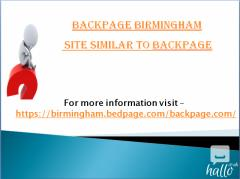 Backpage Birmingham  site similar to backpage
