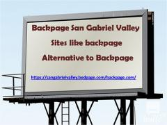 Backpage San Gabriel Valley  Sites like backpage  Alt