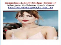 backpage stockton  Alternative to backpage  backpage.