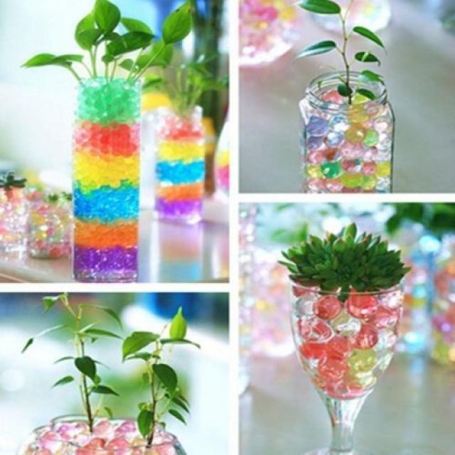 Buy Water Beads for Decorations and Play 3 Image