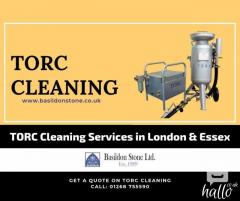 Stone & Brick Cleaning Services in the UK using TORC