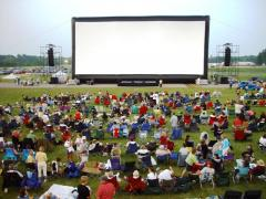 Outdoor Cinema For Hire