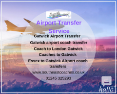 Best Coach Hire to Gatwick Airport - South East Coaches