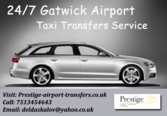 247 Gatwick Airport Taxi Transfers Service