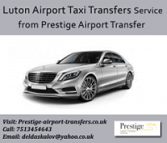 Luton Airport Taxi Transfers Service from Prestige Airp