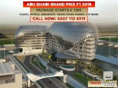 Abu Dhabi Grand Prix 2018 Packages