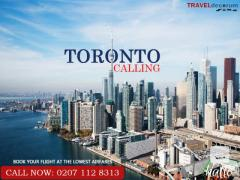 Cheap Flights from London to Toronto.