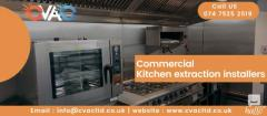 Commercial Kitchen Installation Services in London