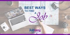 looking for jobs in UK