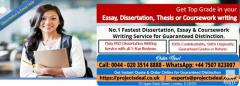 No.1 Dissertation,Essay & Coursework Writing Service