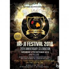 Iri-ji Festival 2018 and 20th Anniversary Celebration