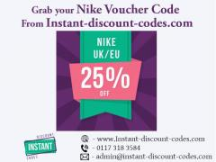 Grab your Nike Voucher Code From Instant-discount-codes