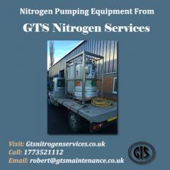 Nitrogen Pumping Equipment From GTS Nitrogen Services