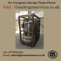 Get Cryogenic Storage Tanks in UK From GTS Maintenance