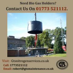 Need Bio Gas Holders Contact Us On 01773 521112