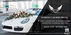Get the Best Wedding Car Hire Prices in London