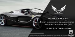 Looking For Cheap Prestige Car Hire in London