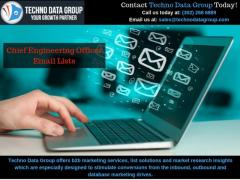 Chief Engineering Officer Email Lists & Mailing Lists