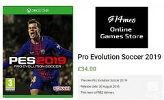 Buy Pro Evolution Soccer 2019 Xbox one Video Games