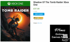 Want To Buy The Latest Tomb Raider Xbox One-G14M