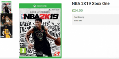 Buy Only For 24.00 Ultimate Edition NBA 2K19 Xbox One
