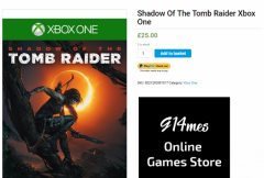 Buy Only 25.00 The Latest Tomb Raider Xbox One