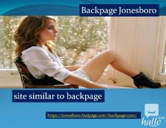 Backpage Jonesboro  Alternative to backpage.