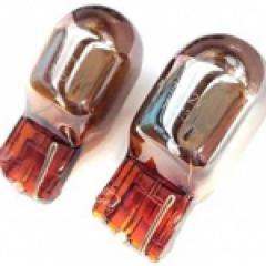 Wy21w Chrome Amber Indicator Bulbs