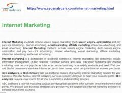 Internet marketing Company and services in Chennai