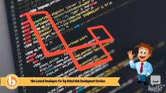 Hire best laravel web development services