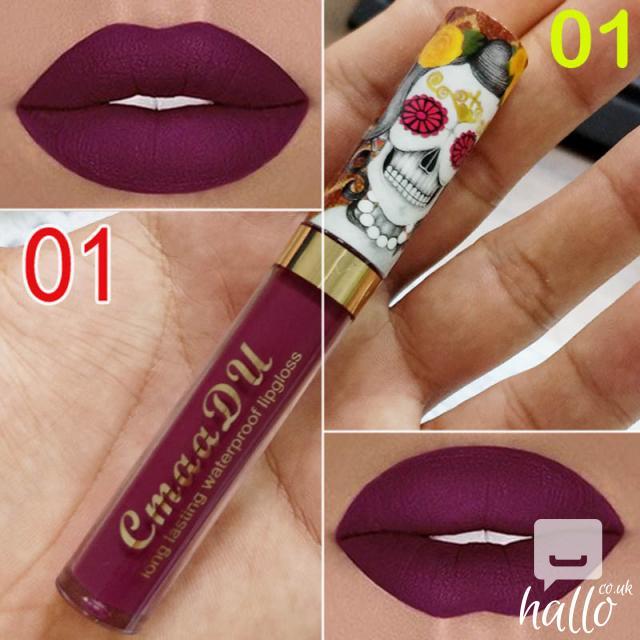 CmaaDu Matte 6 Colors Liquid Lipstick Waterproof 4 Image