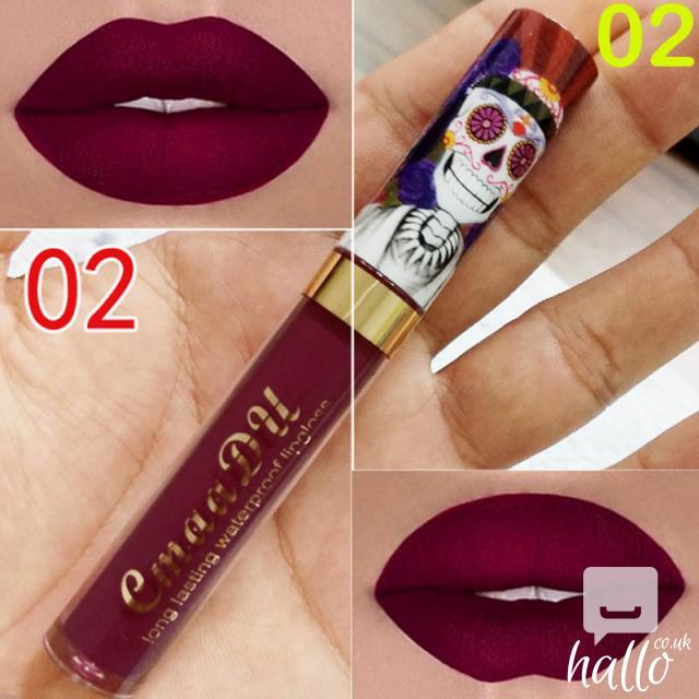 CmaaDu Matte 6 Colors Liquid Lipstick Waterproof 5 Image
