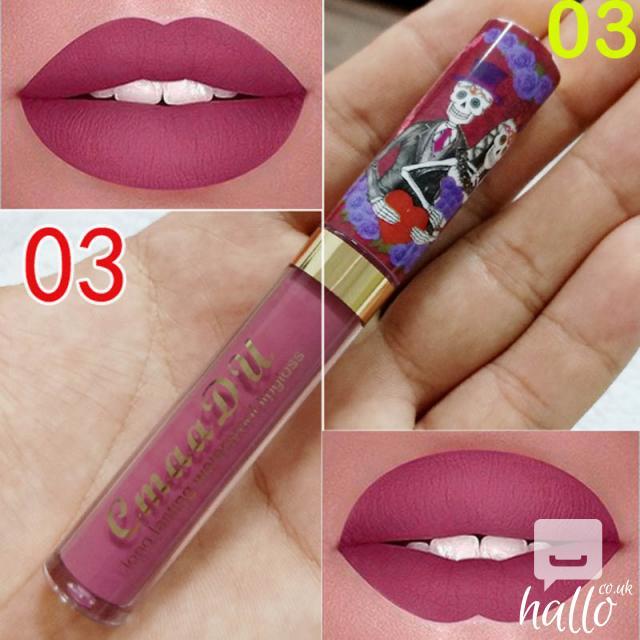 CmaaDu Matte 6 Colors Liquid Lipstick Waterproof 6 Image