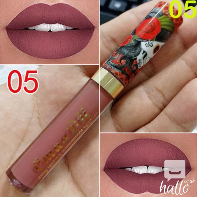 CmaaDu Matte 6 Colors Liquid Lipstick Waterproof 8 Image