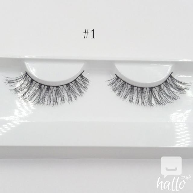 Huda False Eyelashes Eyelash Extensions handmade 3 Image