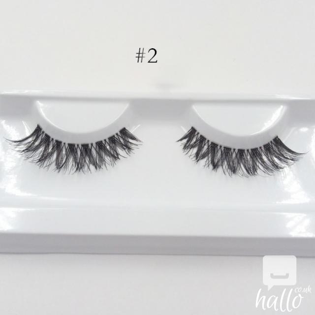 Huda False Eyelashes Eyelash Extensions handmade 4 Image