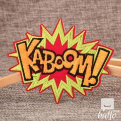 Kaboom Name Patches