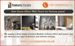 Latest Models of Stone Effect Wall Panel in UK