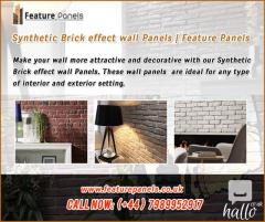 Best Synthetic Brick effect wall Panels in the UK