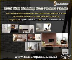 Brick wall cladding by Feature Panels