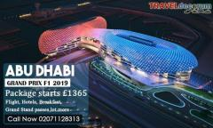 Explore Abu Dhabi Grand Prix Packages Online