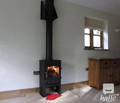 For fitting a wood burner contact us