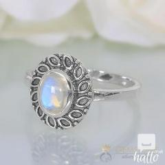 Moonstone Ring Sneaky Light