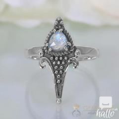 Moonstone Ring Wild Edges