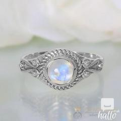 Moonstone Ring Mirth