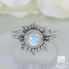 Moonstone Ring Soulful Sunrise