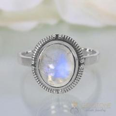Moonstone Ring Sparkling Charisma-GSJ