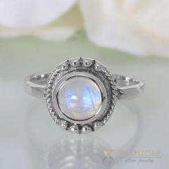 Moonstone Ring Miracle Of Zeus-GSJ
