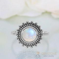 Moonstone Ring Calgary Star-GSJ