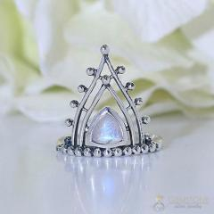 Moonstone Ring Superior Highness-GSJ